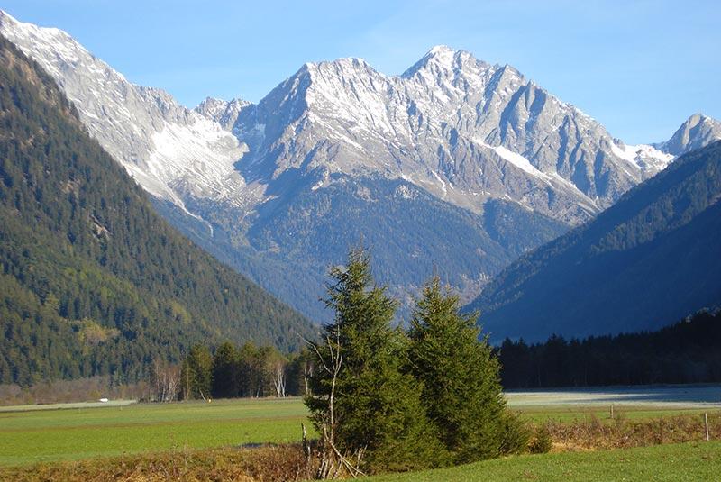Berge im Antholzertal